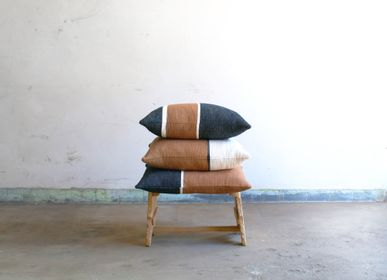 Fabric cushions - Yoko 3 black - ML FABRICS