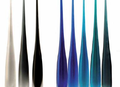 Verre d'art - Flûte - WAVE MURANO GLASS
