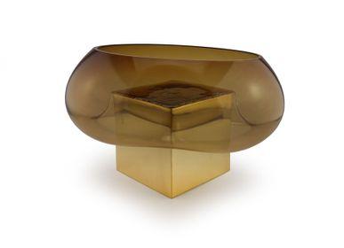 Vases - Coupe GRAVITY CUBE Bronze - VANESSA MITRANI