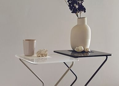 Coffee tables - The White Square Table - KRAY STUDIO