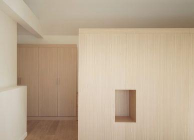 Desks - Bespoke furniture in natural oak and white lacquered - BARTOLUCCI ARREDAMENTI