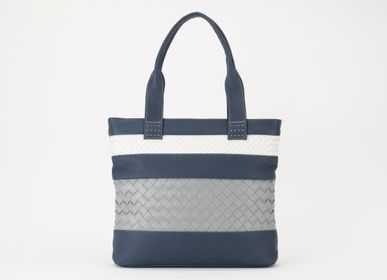 Bags and totes - SHION/LEATHER DOUBLE MESH TOTE BAG - SHION