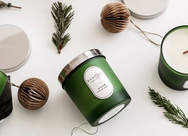 Gifts - Winter Scented Natural Candle - ECHOES CANDLE & SCENT LAB.
