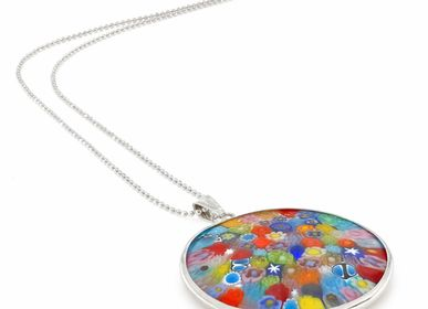 Jewelry - Millefiori Murrina Necklace - LINEA ITALIA SRL