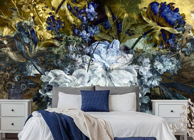 Hotel bedrooms - Wallcovering Daybreak - LA AURELIA DESIGN