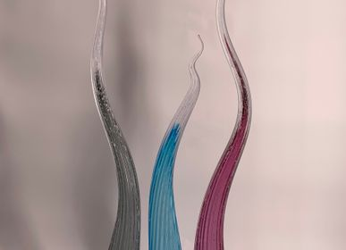 Art glass - Curly - WAVE MURANO GLASS