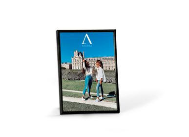 Decorative objects - BLACK METAL PHOTO FRAME 15X20 CM AX21550 - ANDREA HOUSE