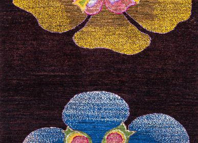 Rugs - Haru no Hana (Spring Flowers) runner, Ikebana Kyoto Collection, Zollanvari Studio, Super Fine quality Gabbeh - ZOLLANVARI INTERNATIONAL