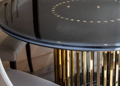 Dining Tables - BRASS Dining table - L'ATELIER BIS