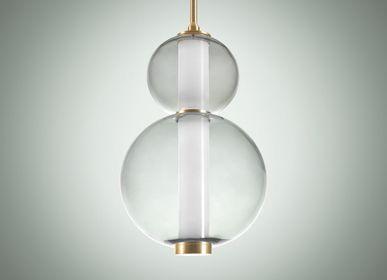 Ceiling lights - Bonbon Single Module Medium Smoke Glass - ATOLYE STORE