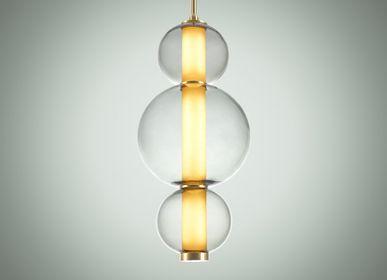 Ceiling lights - Bonbon Single Module Large Smoke Glass - ATOLYE STORE