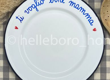 Assiettes au quotidien - PLAT TI VOGLIO BENE MAMMA  - HELLEBORO.HOMEDECOR