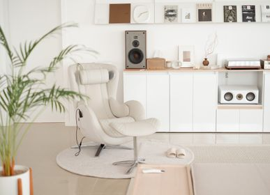 Office furniture and storage - Massage chair Classic_Elder white - NOUHAUS