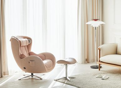 Office furniture and storage - Classic Massage Chair_Pale rose - NOUHAUS