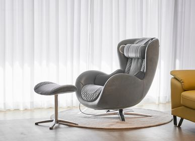 Office furniture and storage - Classic Massage Chair_Ash gray - NOUHAUS