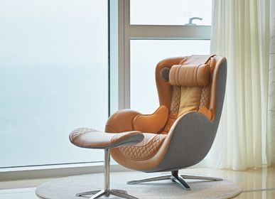 Office furniture and storage - Classic Massage Chair_Caramel - NOUHAUS
