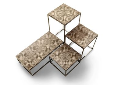 Night tables - Small table OPTIC 45X45X45 - MARZOARREDA