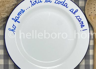 Assiettes au quotidien - Plat HO... TIRA LA CODA AL CANNE - HELLEBORO.HOMEDECOR