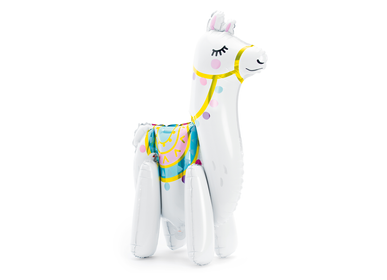 Decorative objects -  Foil balloon Llama, 39x61cm, mix - PARTYDECO