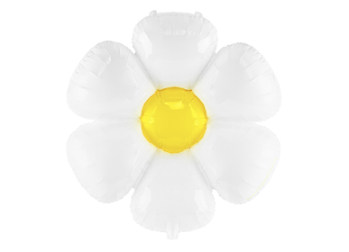 Decorative objects - Foil balloon Daisy, 75x71cm, mix - PARTYDECO