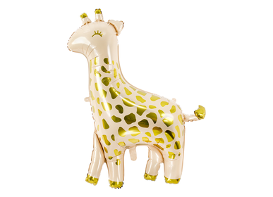 Decorative objects - Foil balloon Giraffe, 80x102cm, mix - PARTYDECO