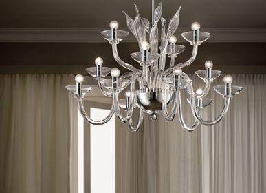Ceiling lights - Aurora chandelier - SIMONE CENEDESE MURANO