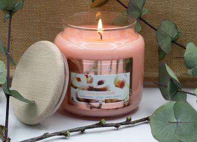 Candles - Authentique Albâtre - Bougies et diffuseur grand modèle - LES LUMIÈRES DU TEMPS