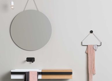 Bathroom mirrors - Round mirror wall mounted - EVER LIFE DESIGN