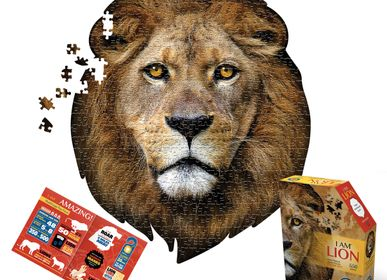 Children's arts and crafts - I AM Puzzle Poster Size: LION - MADD CAPP