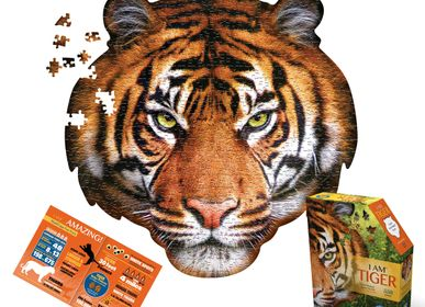 Children's arts and crafts - I AM Puzzle Poster Size: TIGER - MADD CAPP