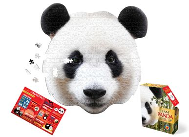 Children's arts and crafts - I AM Puzzle Poster Size: PANDA - MADD CAPP