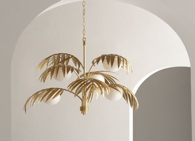 Suspensions - Le Palm Lustre - VENZON LIGHTING & OBJECTS