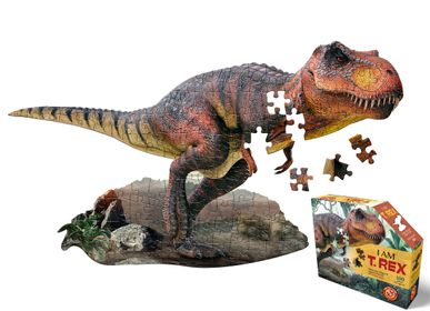 Children's arts and crafts - I AM Puzzle Jr.: T-REX - MADD CAPP