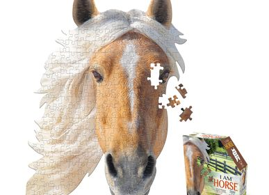Children's arts and crafts - I AM 300 Puzzle: HORSE - MADD CAPP