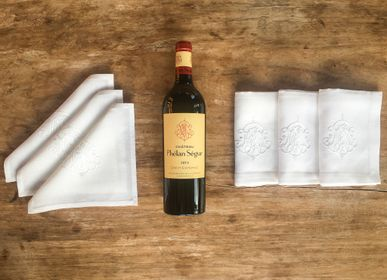 Table linen - Phelan Segur wine napkins - KISANY
