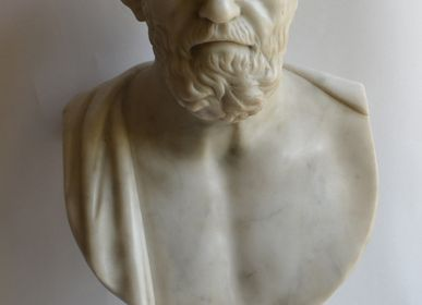 Sculptures, statuettes and miniatures - Bust of Hippocrates - TODINI SCULTURE