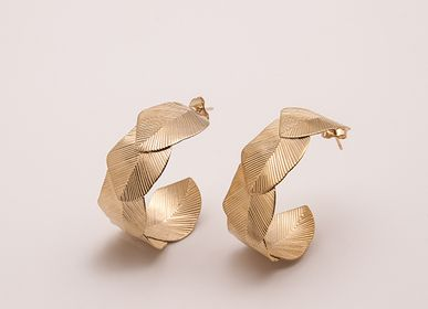 Jewelry - HOOP EARRINGS SYCAMORE GM - LES FEMMES À BARBES