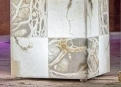 Objets design - lampe cube - ARTIERI ALABASTRO