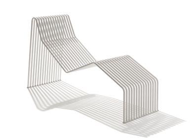 Lawn sofas   - ZEROQUINDICI.015 CHAISE LONGUE - URBANTIME