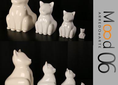 Ceramic - Bianca Miao - CeraMicino - a Cat statuette - MOOD06 ARREDO E ARTE BY COMPUTARTE®