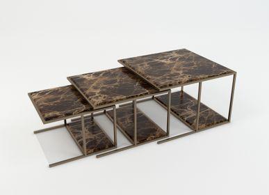 Coffee tables - Trilogy set coffee table - TR 001  - M2L DI MAROTTA D. & C. S.A.S.