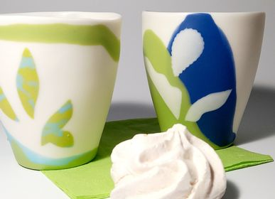 Decorative objects - FULL COLOR TROPICAL, set tea cups  - MPR STUDIO