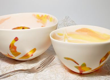 Ceramic - FULL COLOR TROPICAL, set bowls - MPR STUDIO