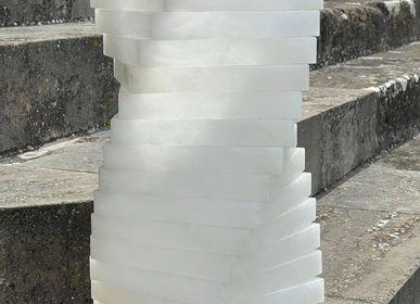 Lampadaires - Lampe d'escalier en albâtre - ARTIERI ALABASTRO