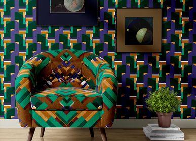 Other wall decoration - Eco-friendly Wallpaper EDGARPOÉTIQUE - CORALIE PREVERT PARIS
