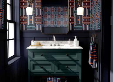 Other wall decoration - Eco-friendly Wallpaper MINUTE - ON NE SE DOUTE PAS COMME C'EST LONG, UNE MINUTE. - CORALIE PREVERT PARIS