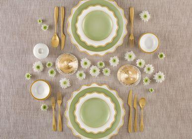 Formal plates - Maris d'Or porcelain plates - PORCEL