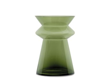 Decorative objects - NOAH GREEN VASE Ø20X29,5 CR21108 - ANDREA HOUSE