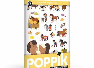 Children's games - Mini Pony Club - 27 STICKERS  - POPPIK