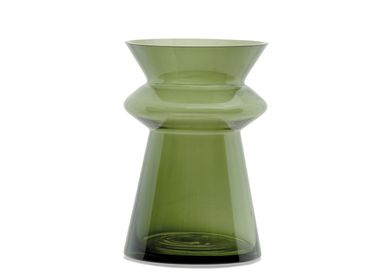 Decorative objects - NOAH GREEN VASE Ø16X23,5 CR21107 - ANDREA HOUSE